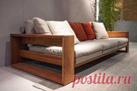 Как самостоятельно изготовить диван?