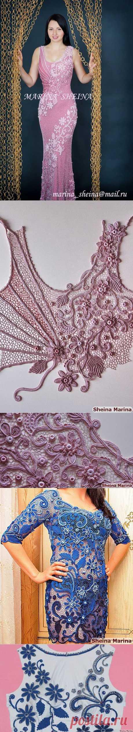 Ирландское кружево Марины Шеиной.