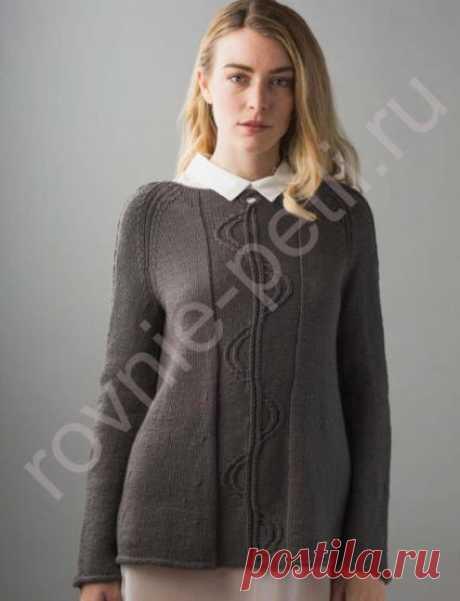Пуловер реглан Fourier