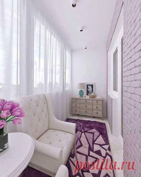 Хотели бы себе такой балкон?