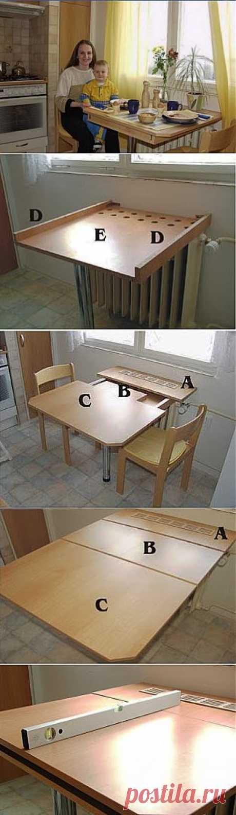 Выдвижной столик