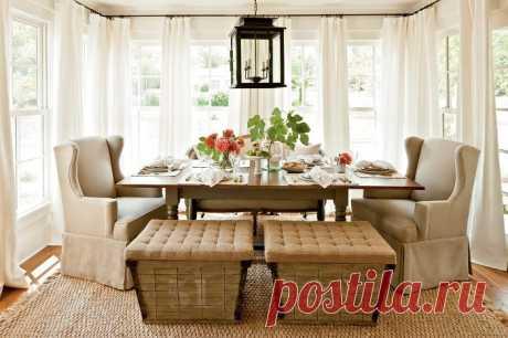 Дивно прекрасные шторы в интерьере | Мой дом