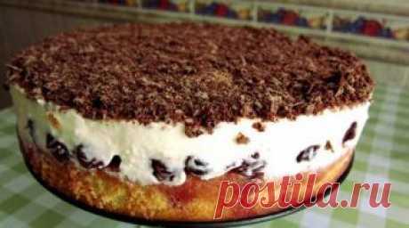 Вишневый пирог Никого не оставит равнодушным!