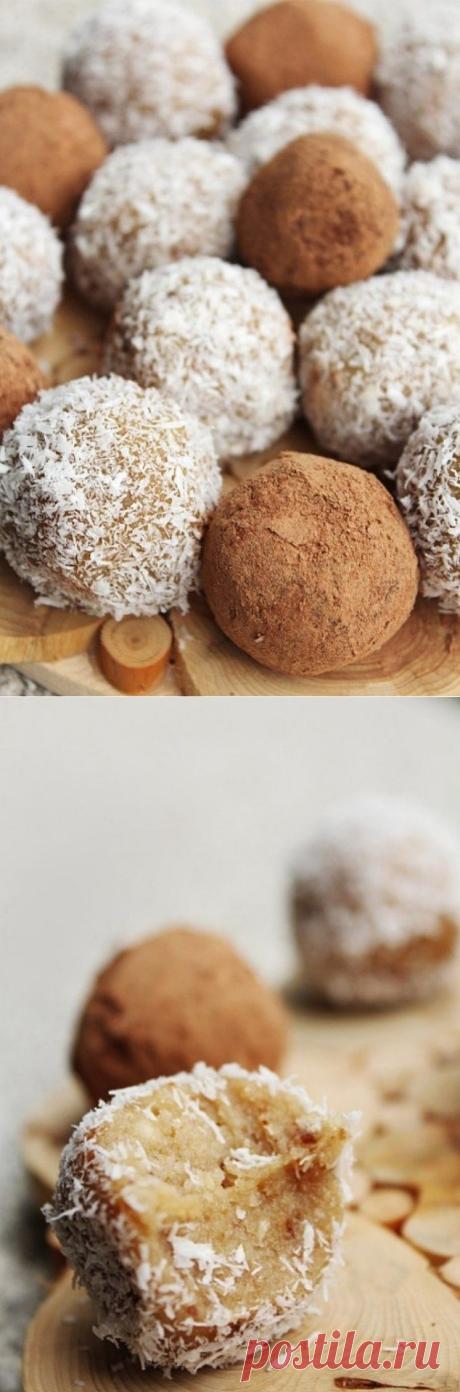 Простые и нежные конфеты из кешью