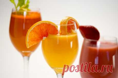 3 напитка, которые помогут взбодриться утром!