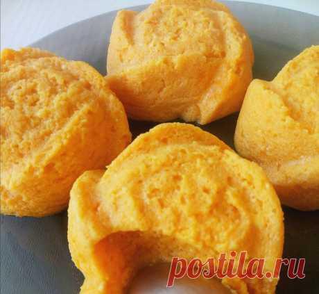 ПП суфле из тыквы и творога - рецепт с фото пошагово