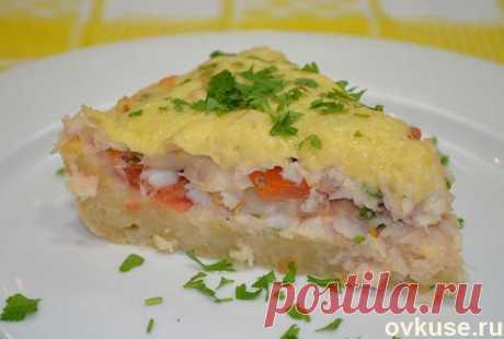 Рыбный пирог с сыром - Простые рецепты Овкусе.ру