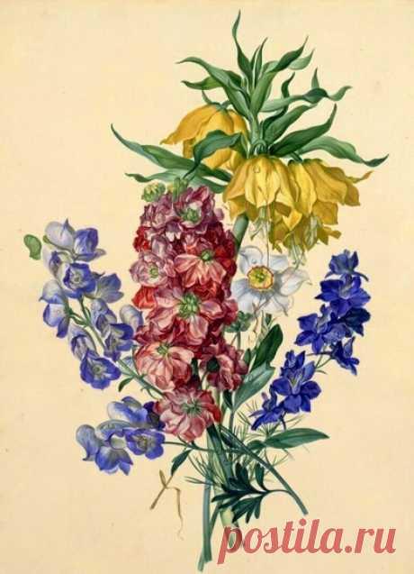 Весенний букет — сбор пазла — Пазлы онлайн