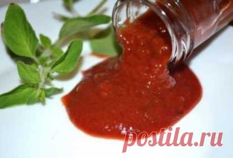 Томатный соус из томатной пасты - пошаговый рецепт с фото на Повар.ру