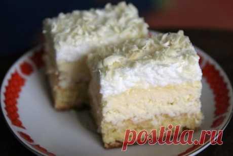 """""""Снежинка"""" — рецепт нежнейшего пирожного на новогодний стол - appetitno.net"""