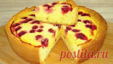 Нашла рецепт идеального сметанного пирога (он тает во рту, хоть губами ешь) | Рукоделочка | Яндекс Дзен