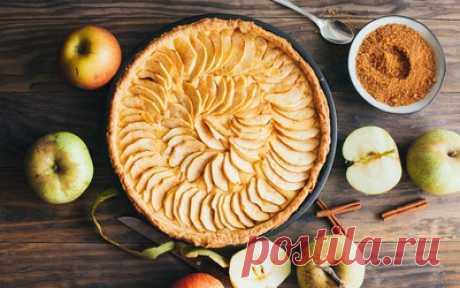Яблочный пирог — сбор пазла — Пазлы онлайн