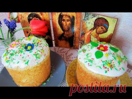 Cottage cheese Easter cake without yeast