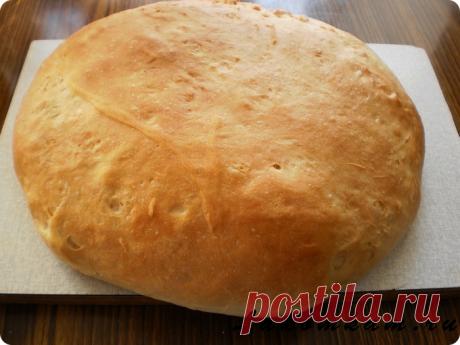 Хлеб на ночной опаре | Короткие рецепты | Яндекс Дзен