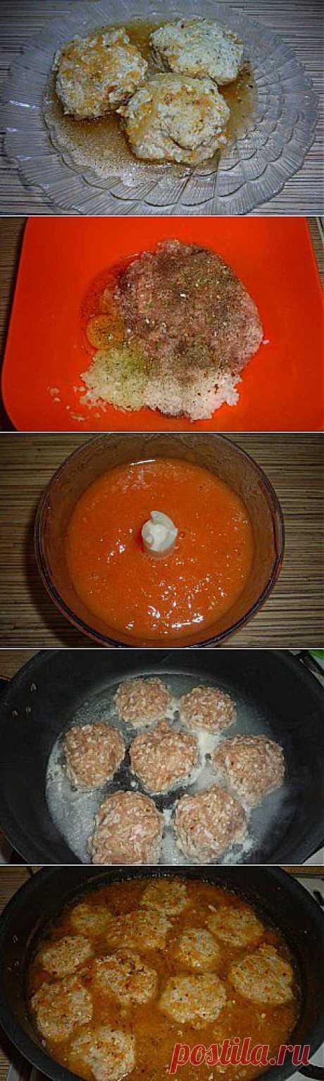Как приготовить тефтели в томатном соусе | Кухарята.ру