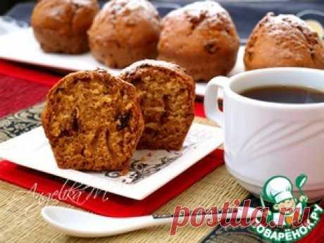 Кексы с черносливом на кефире - кулинарный рецепт