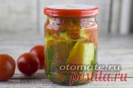 Огурцы в томате на зиму без стерилизации, обалденный рецепт