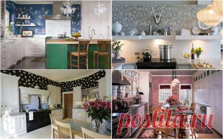 Обои для кухни: оригинальные идеи — Интерьер и Декор