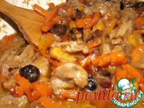Цимес мясной по рецепту тети Двойры из Одессы - кулинарный рецепт