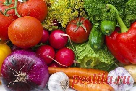 Как избавиться от химии в овощах и фруктах — Мегаздоров