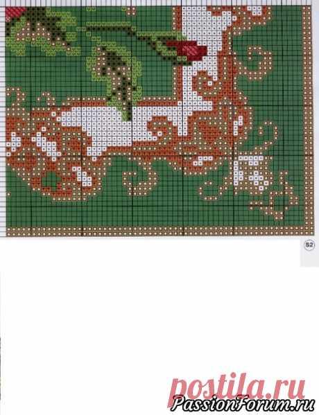 Схема МАК - запись пользователя Татьяна (Татьяна) в сообществе Вышивка в категории Схемы вышивки крестом, вышивка крестиком
