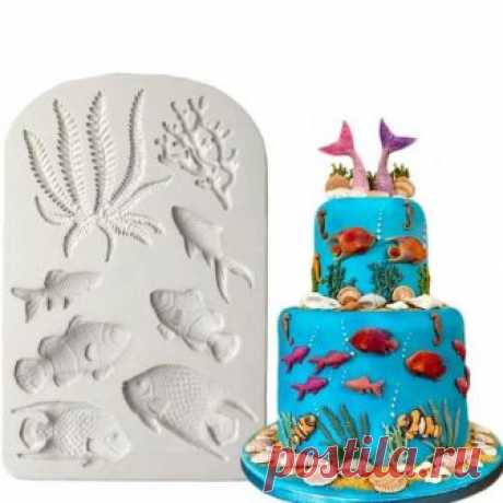 Fish, Seaweed, Coral, Silicone mold, Resin mold, Mould, Fondant mold, Soap mold, Chocolate mold, Candy mold, Jewelry mold, Molds, Decor Fish, Seaweed, Coral, Silicone mold, Resin mold, Mould, Fondant mold, Soap mold, Chocolate mold, Candy mold, Jewelry mold, Molds, Decor  ►More molds: https://www.etsy.com/shop/OscolShop?ref=l2-shopheader-name§ion_id=24157932  Material: Silicone Working Temperature: -60 to +240° C Package