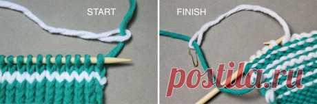 Вязание без хвостов