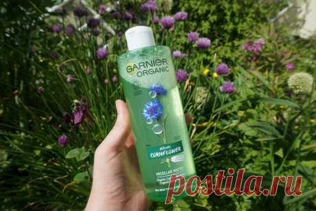 Мицеллярная вода Garnier Organic Cornflower Micellar Cleansing Water