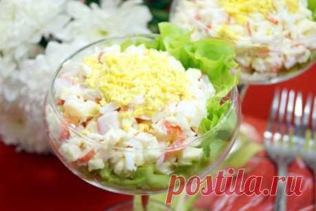 Салат «Светлана» Салат «Светлана», это светлый, нежный и очень вкусный салат. «Светлана» порадует вас своим вкусом и легкостью.