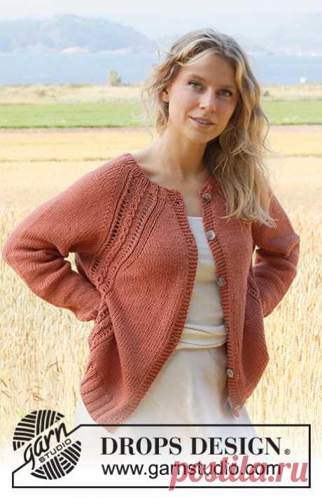 Жакет Turning Leaves - блог экспертов интернет-магазина пряжи 5motkov.ru