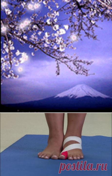 Гимнастика при деформации большого пальца стопы