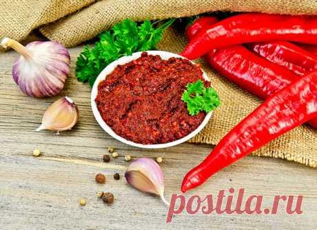 Настоящая грузинская аджика: рецепт обжигающего соуса - tochka.net