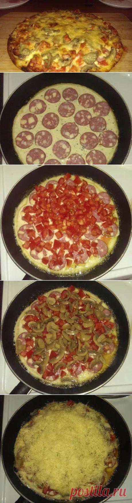 Самые вкусные рецепты: Супер быстрая пицца