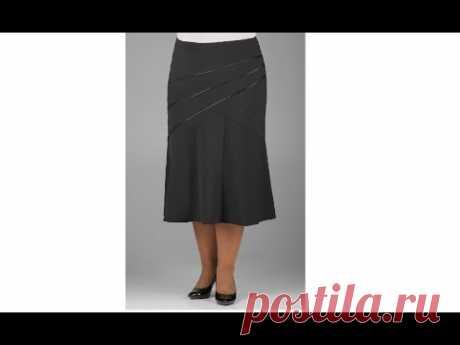 Моделирование юбки на основе прямой