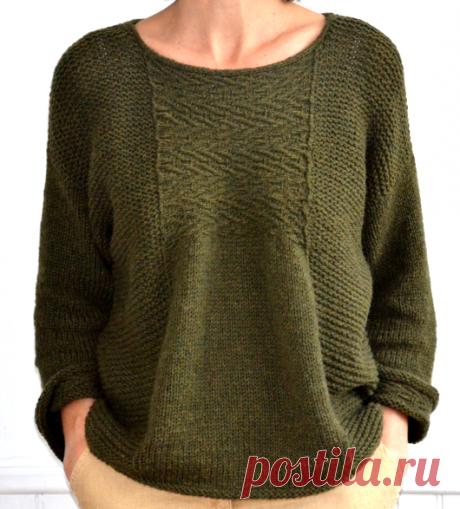Вязаный пуловер Etranger | ДОМОСЕДКА