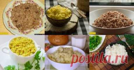 Рассыпчатые каши - 8 рецептов приготовления пошагово