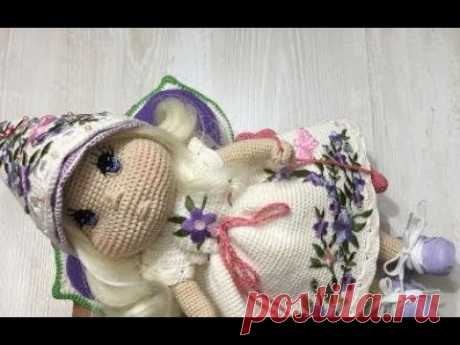 Обзор на мастер - класс куколки феечки . Спонсор выпуска интернет магазин Мир вышивки.