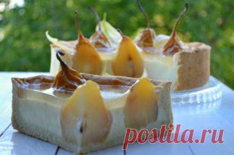 Pear in Crystal pie. The recipe with a step-by-step photo | the Housewife