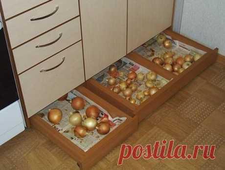 Гениальный дизайн: ящики, которые подарят вашей кухне дополнительное пространство