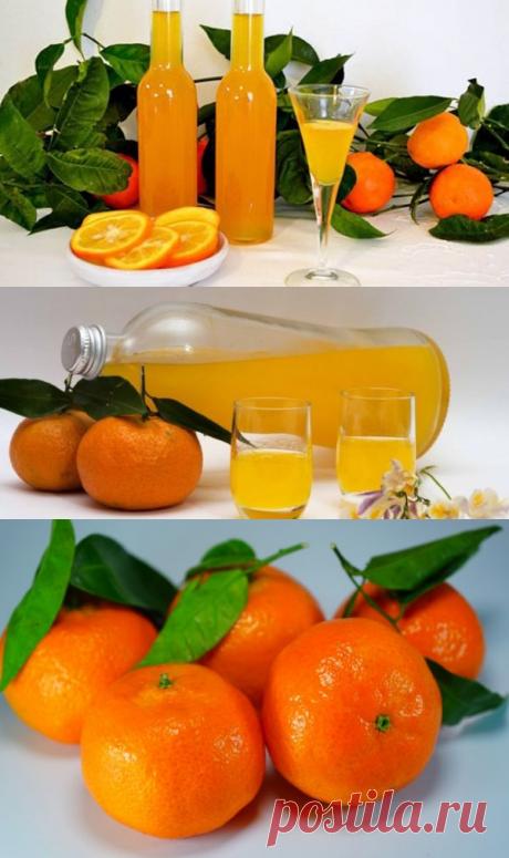 Мандариновый ликер (2 рецепта)