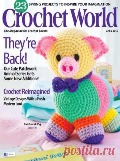 Crochet World №2 2016