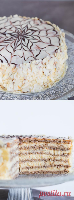 Elena Demyanko: Cake of Esterkhazi \/ Esterhazy Torte