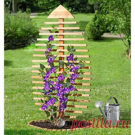 Интересные идеи для опоры для растений Интересные идеи для опоры для растений, чтобы ваш двор стал неповторимым.