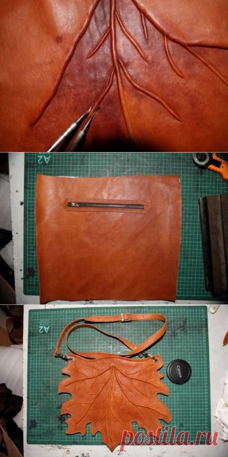 """(+1) тема - Женская сумка ручной работы """"Кленовый лист""""   Хвастуны и хвастушки"""
