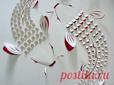 бумагопластика | Записи в рубрике бумагопластика | Дневник Надежда_Цветочница