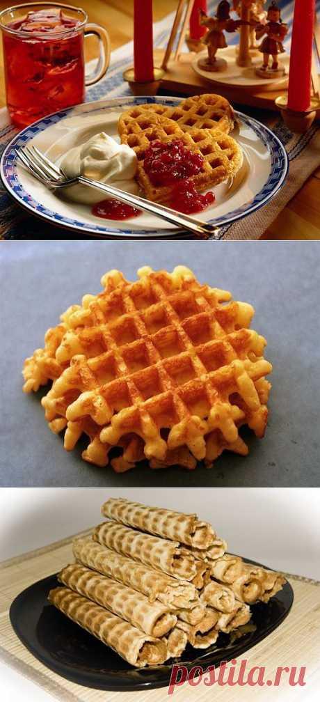 Как приготовить домашние вафли? Нет ничего проще / Простые рецепты