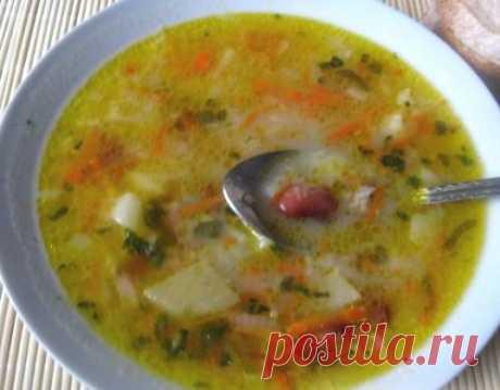 Фасолевый суп по-крестьянски / Простые рецепты