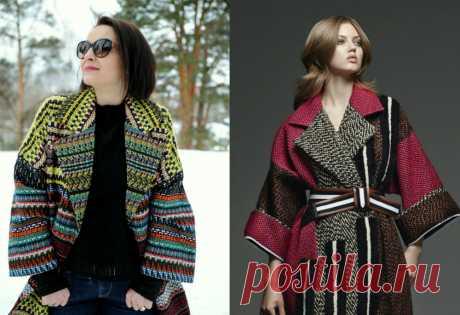 Шьем пальто по мотивам Fendi в технике Chanel — Мастер-классы на BurdaStyle.ru