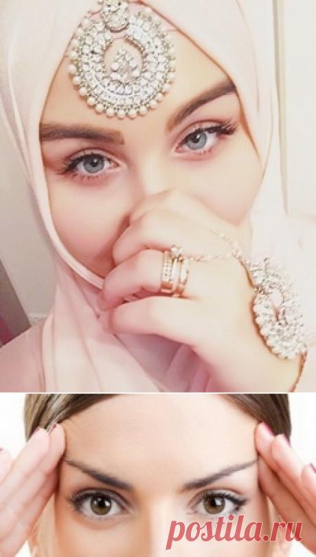 Гимнастика для лица сестрам-мусульманкам