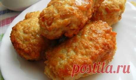 Как приготовить супер пышные куриные котлетки с овсяными хлопьями.  - рецепт, ингредиенты и фотографии
